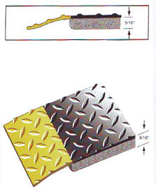 Diamond Plate Contract Duty Anti-Fatigue Mats