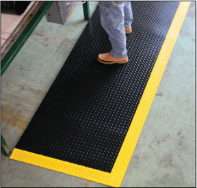 Diamond Plate™ Anti-Fatigue Mats