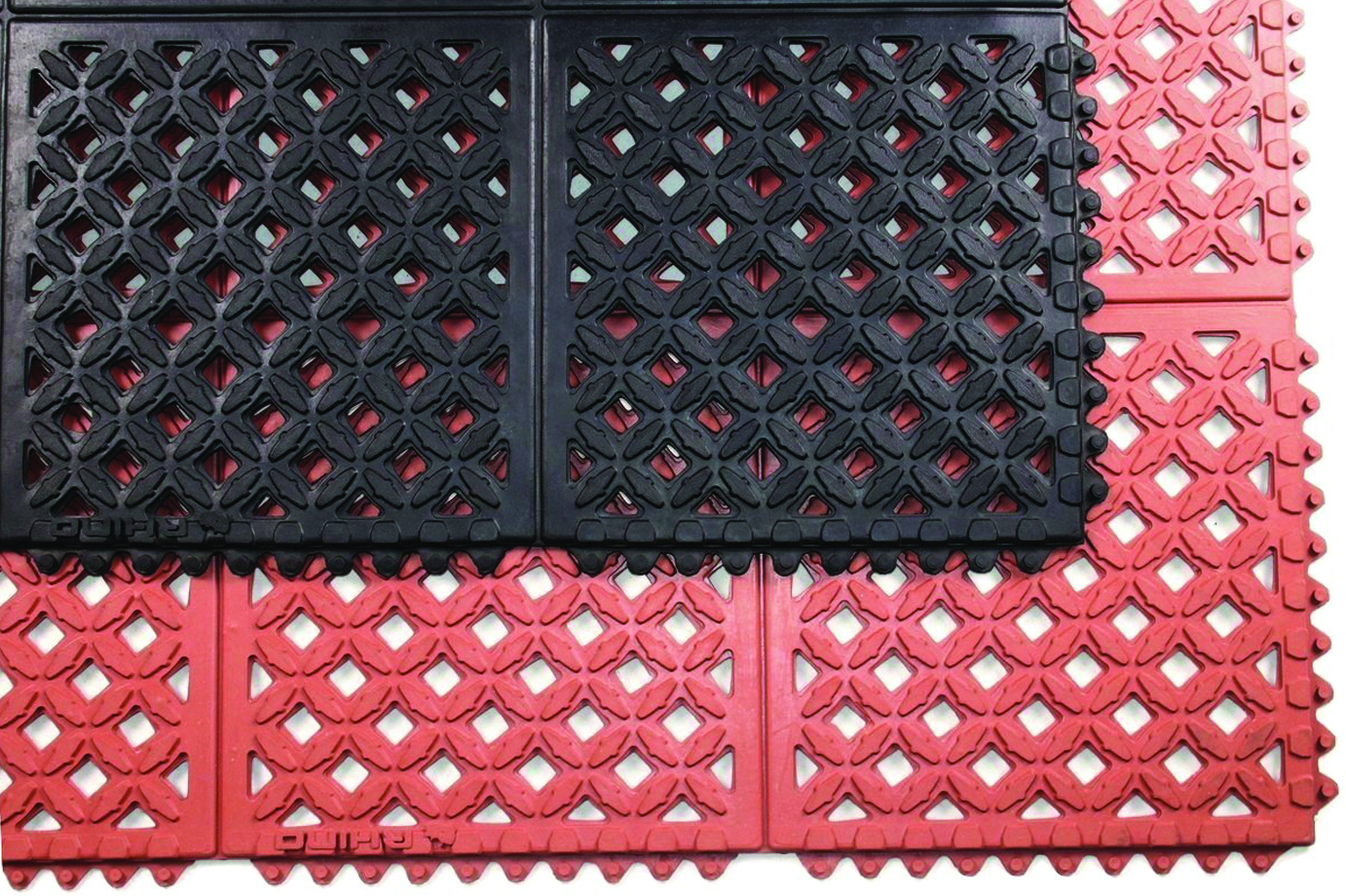 Drain-X® Diamond Drain-Thru Anti-Fatigue Mats