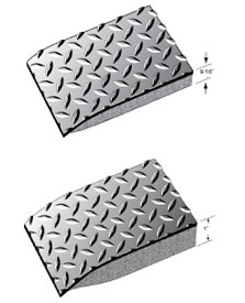 ESD Mats - Conductive Diamond Plate Anti Fatigue Matting